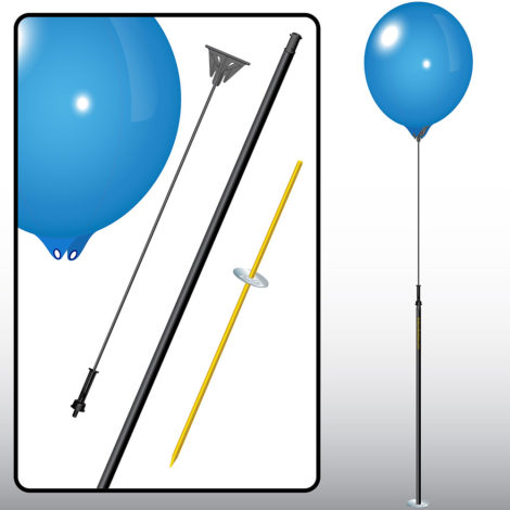 BalloonBobber Long Pole Kit Spec 1
