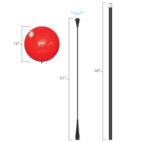 Dura Deluxe Long Pole Kit Specs