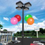Dura Balloon Kit for Light Pole at Dealership