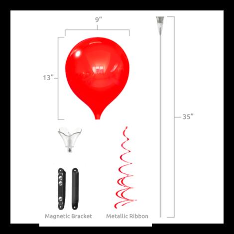 PermaShine Magnetic Bracket Single Kit