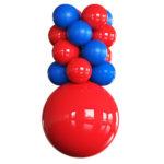 PermaShine Ceiling Column Balloons