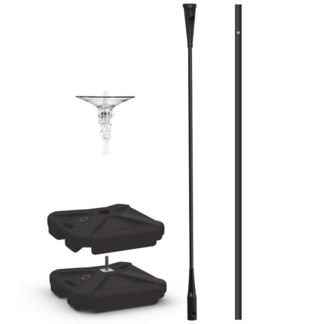 Dura Mega Weighted Base Pole Kit Specs