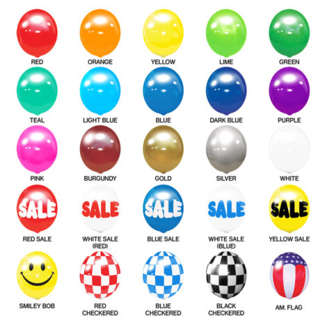 BalloonBobber Colors