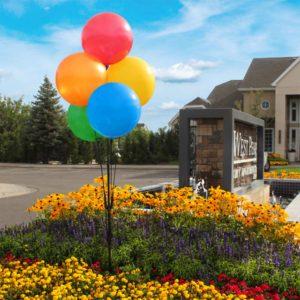 BalloonBobber Cluster Pole Kit