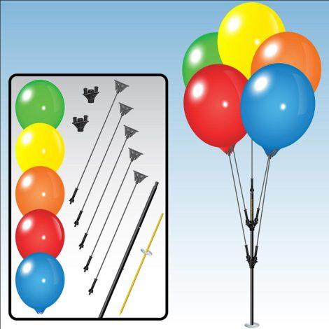 BalloonBobber Cluster Pole Kit Specs 1