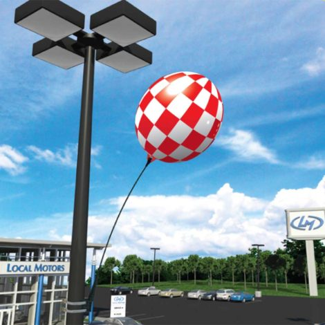 BalloonBobber Light Pole Kit Dealership