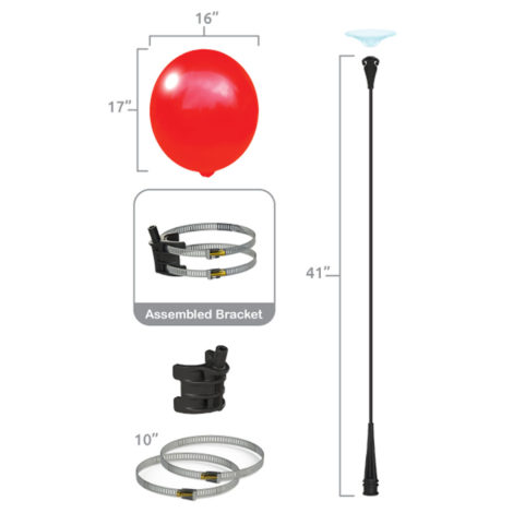 BalloonBobber Light Pole Kit Specs