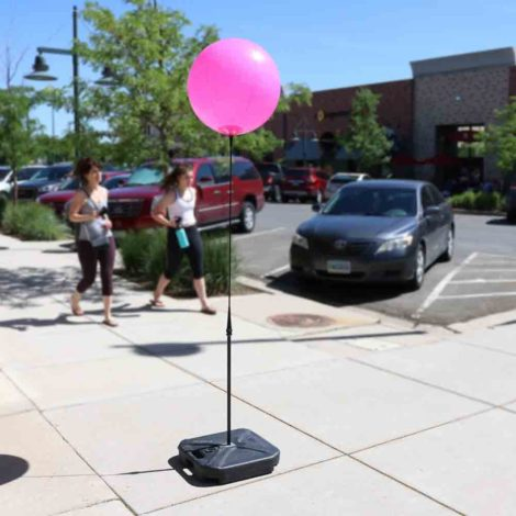 BalloonBobber Weighted Short Pole