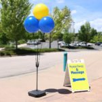 BalloonBobber Weighted Triple Cluster Pole Kit