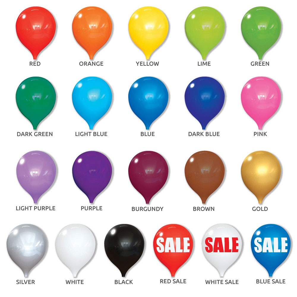 PermaShine Balloon Color Library