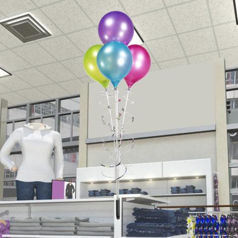 PermaShine Quadruple Balloon Magnetic Bracket Kit