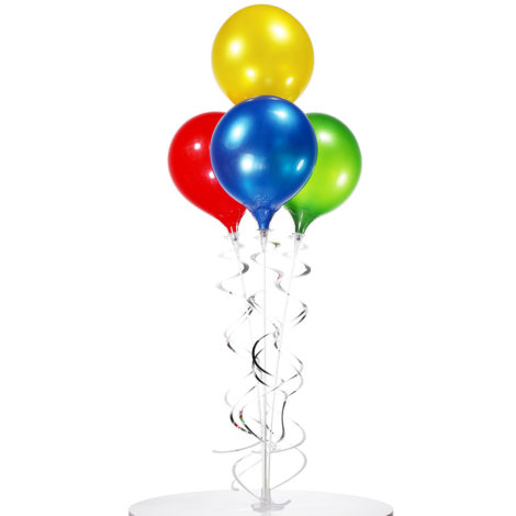 PermaShine Quadruple Table Top Balloon Display 2