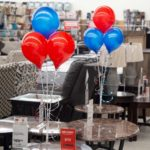 PermaShine Triple Table Top Balloon Display