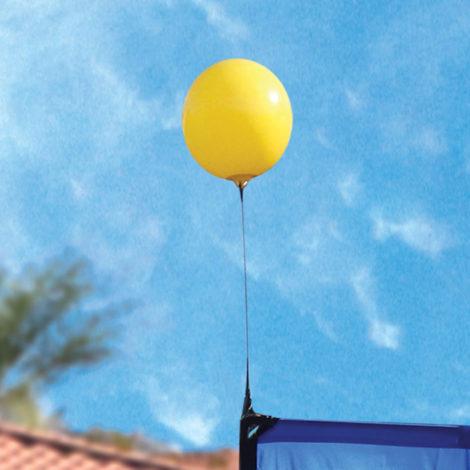 360Five Flags Single Balloon Topper