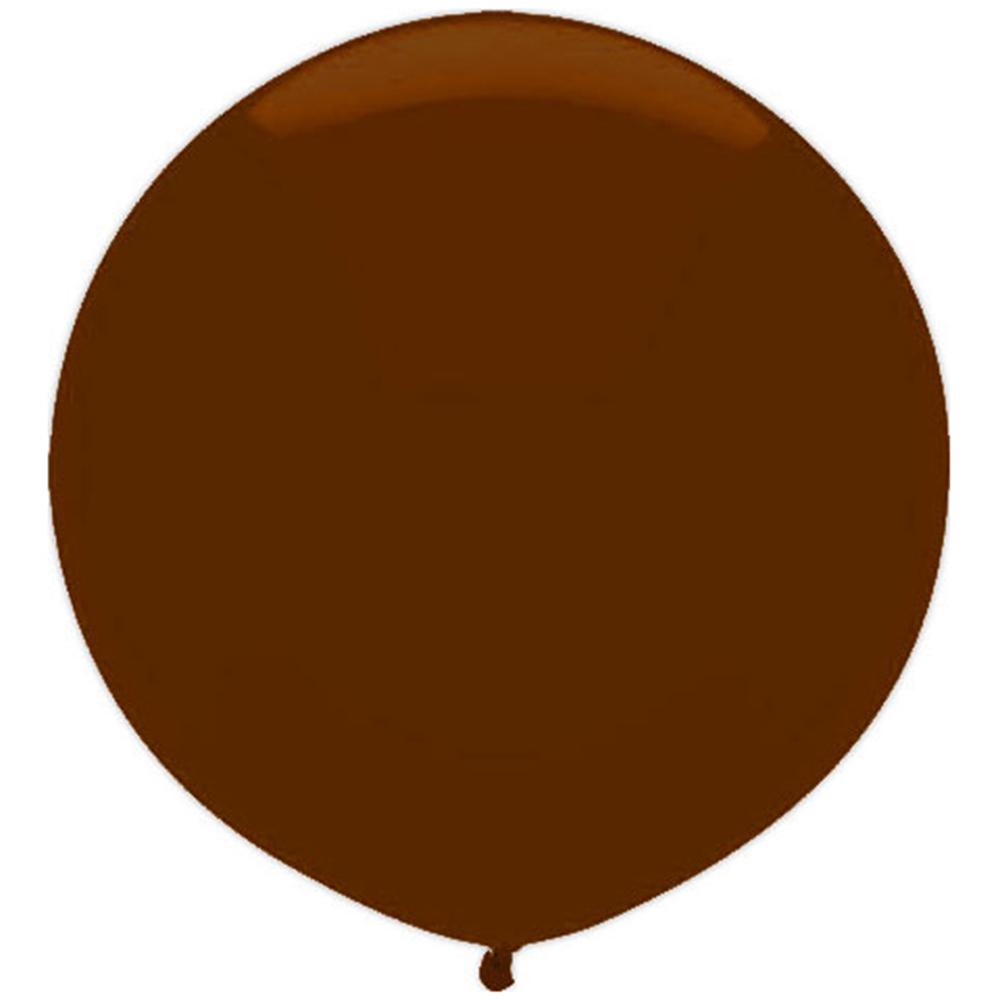 Dark Chocolate Brown Helium Balloon