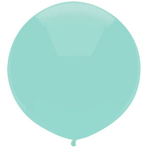 Helium Balloon Mint Green