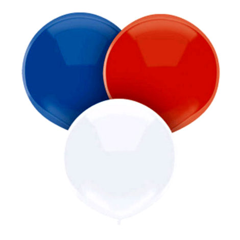 Helium Balloon Patriotic