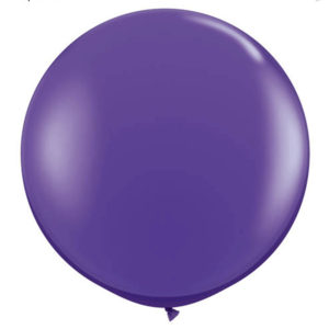 Helium Balloon Purple
