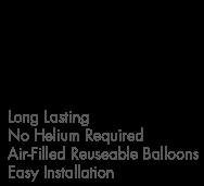 Balloons Bobbers™ 5-Balloon Cluster